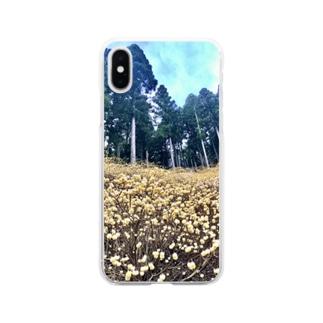 ミツマタ群生地はほんとにこの世の果てか?って思うくらい圧倒された Soft clear smartphone cases