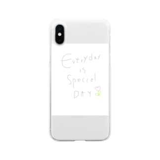 Everyday is... Soft clear smartphone cases