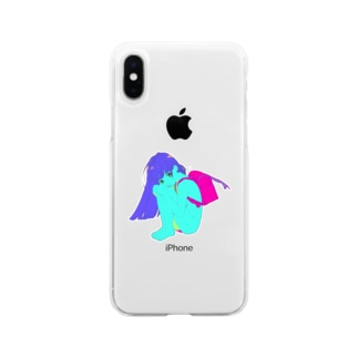 おとな Soft clear smartphone cases