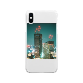 city Soft clear smartphone cases