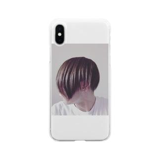 俺 Soft clear smartphone cases