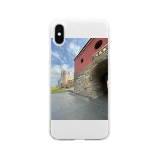 北門 Soft clear smartphone cases