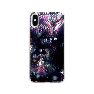 猟奇と混沌のパレード Soft clear smartphone cases