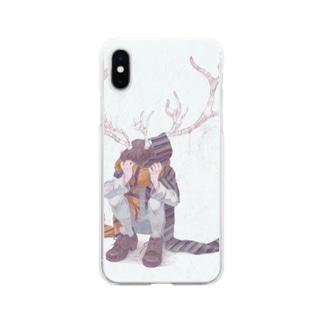 マフラー Soft clear smartphone cases