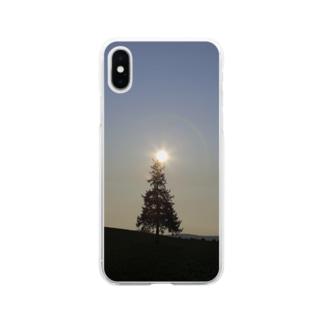 木の天辺にヒカリ Soft clear smartphone cases