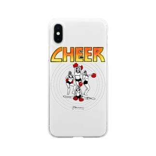 KISS CHEER キッスチア Soft clear smartphone cases