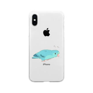 PuiPuiサザナミ Soft clear smartphone cases