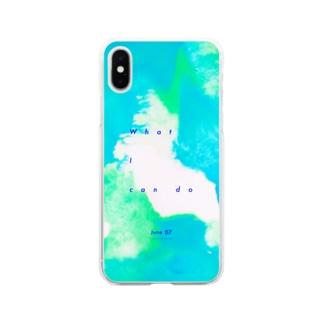 mmukのショップのJune07-日付あり- Soft clear smartphone cases