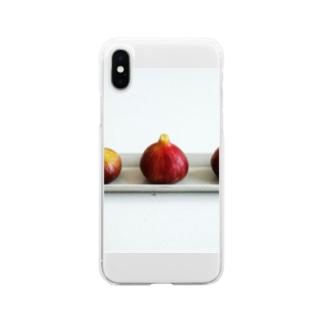 三つ子のスライム Soft clear smartphone cases