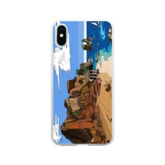 マーガレット・リバー各種スマホケース Soft clear smartphone cases