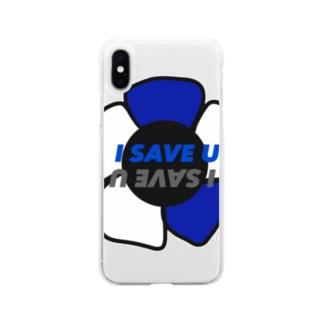 I SAVE U Soft clear smartphone cases