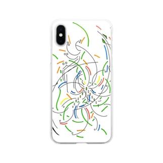 花 Soft clear smartphone cases