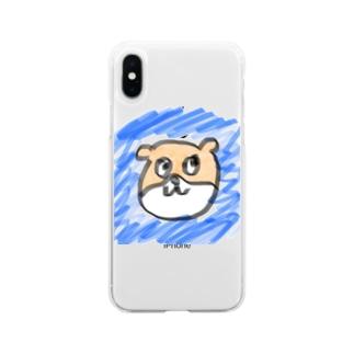 AYUViA-Jのおすましカワウソくん★ Soft clear smartphone cases