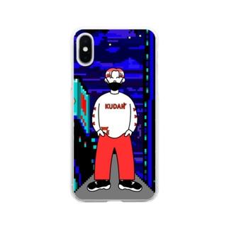 わかる×KUDAN Soft clear smartphone cases