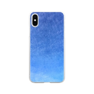 cirrocumulus  うろこ雲 Soft clear smartphone cases
