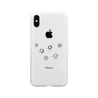 星屑 Soft clear smartphone cases