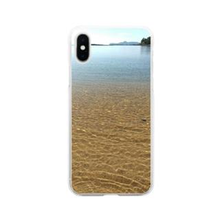 海 波 Soft clear smartphone cases