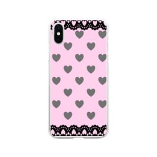 量産型 地雷系 風 Soft clear smartphone cases