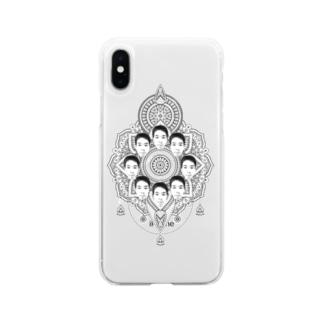 ヤマト総会-曼荼羅- 小物編 Soft clear smartphone cases