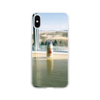 きりたっぷ Soft clear smartphone cases