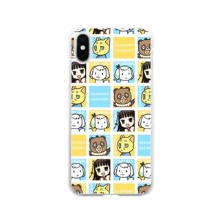 初葉神社の仲間たち Soft clear smartphone cases
