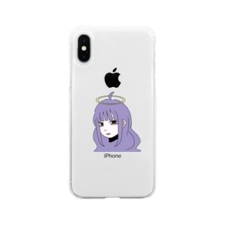 あおいちゃん。 Soft clear smartphone cases