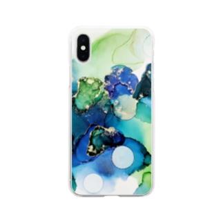 あおとみどり Soft clear smartphone cases