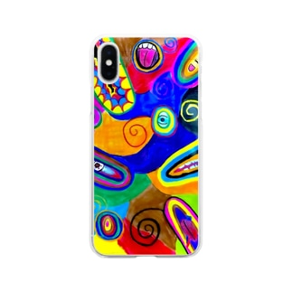 Misty world Soft clear smartphone cases
