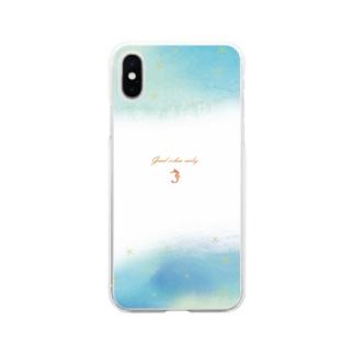 ゆめの渚 Soft clear smartphone cases