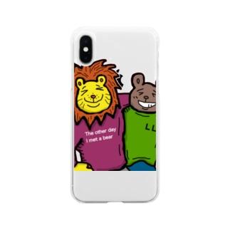 ルークスポークスのベストフレンド Soft clear smartphone cases