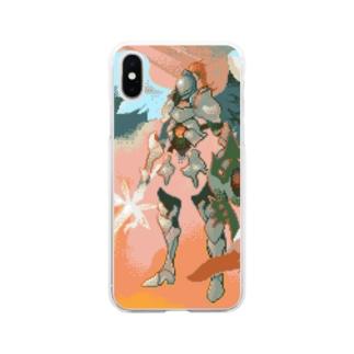 脳筋天使 Soft clear smartphone cases