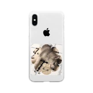 ハスキー  HAKU 2 Soft clear smartphone cases