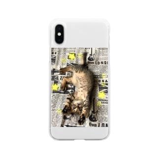 仔猫のtiro  Soft clear smartphone cases