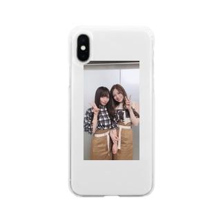 齊藤京子 白石麻衣 Soft clear smartphone cases