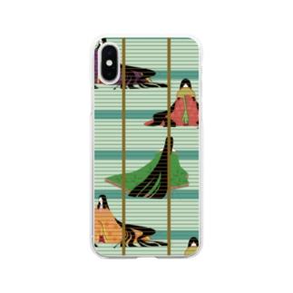 十二単 Soft clear smartphone cases