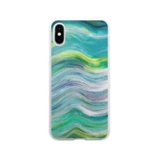 草原 Soft clear smartphone cases