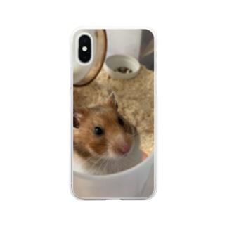 愛するおこげ Soft Clear Smartphone Case