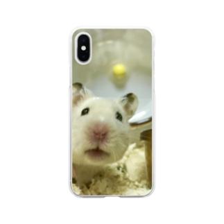 よろしおす〜のもち Soft Clear Smartphone Case