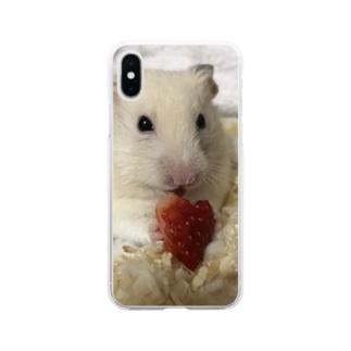 も Soft Clear Smartphone Case