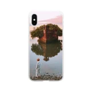 東条ジョナのAbandoned ship Soft clear smartphone cases