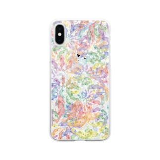RIE-ikedaのカメレオン COLOR WHEEL  全面 Soft clear smartphone cases