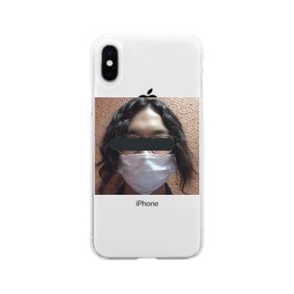 職質受けたことある人 Soft clear smartphone cases