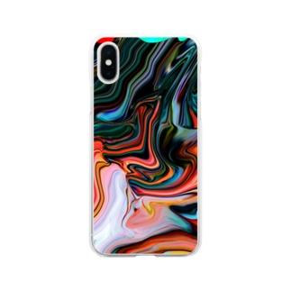 コレ何に見えますか?  Soft clear smartphone cases
