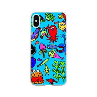 海 Soft clear smartphone cases