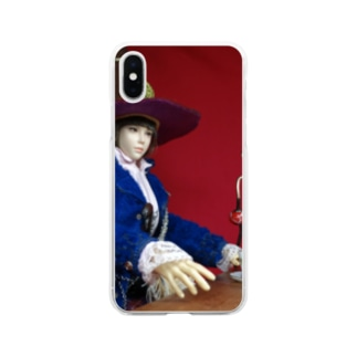 FUCHSGOLDのドール写真:美少女冒険者 Doll picture: Pretty witch adventurer Soft clear smartphone cases