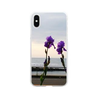あやめ Soft clear smartphone cases