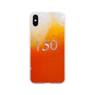 Mugicha150ml Soft clear smartphone cases
