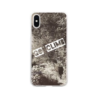 Go Climb Soft clear smartphone cases