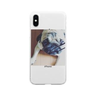 ぱぐるみ Soft clear smartphone cases
