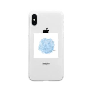 rilybiiの*紫陽花* Soft clear smartphone cases